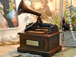 Мелодии музыкальных шкатулок | Ярмарка Мастеров - ручная работа, handmade