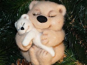 Мастер - класс: медвежонок «Нежность» | Ярмарка Мастеров - ручная работа, handmade