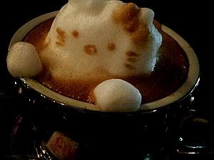 Утренний кофе с пенкой от Казуки Ямамото | Ярмарка Мастеров - ручная работа, handmade