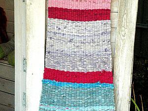 Плетем коврик в детскую по старинному методу. Ярмарка Мастеров - ручная работа, handmade.