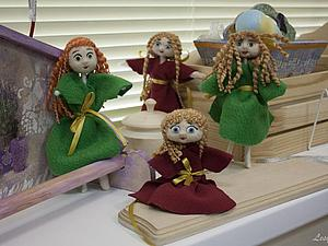 О том, как мы валяли кукол | Ярмарка Мастеров - ручная работа, handmade