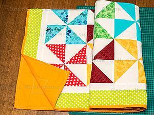Шьем детское лоскутное одеяло для начинающих. Часть 4. Окантовка и завершение одеяла. Ярмарка Мастеров - ручная работа, handmade.