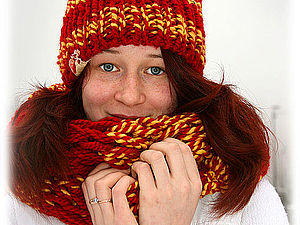 Теплая и позитивная зима! Аукцион!!! На кону три лота! | Ярмарка Мастеров - ручная работа, handmade