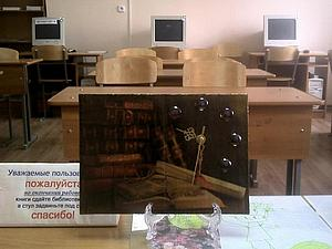 """Интерьерные часики """"Час книги"""" своими руками от """"А"""" до """"Я"""". Ярмарка Мастеров - ручная работа, handmade."""
