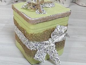 Декорируем баночку из-под чая. Ярмарка Мастеров - ручная работа, handmade.
