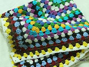 Как спрятать кончики ниток при частой смене цвета. | Ярмарка Мастеров - ручная работа, handmade