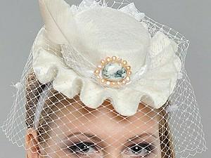 Exclusive Mini-hats hande made | Ярмарка Мастеров - ручная работа, handmade