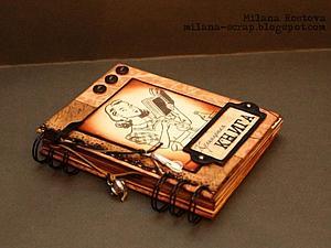 Скрапбукинг. Кулинарная книга или блокнот с разделителями. | Ярмарка Мастеров - ручная работа, handmade