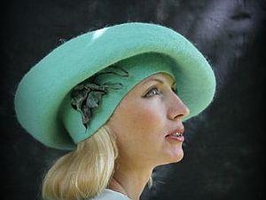 Мастер-класс Ирины Спасской «Дамская шляпа на шаблоне берета. Технология составных полей» в Хврькове | Ярмарка Мастеров - ручная работа, handmade