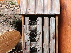 Делаем старую-престарую ключницу «Дом». Ярмарка Мастеров - ручная работа, handmade.