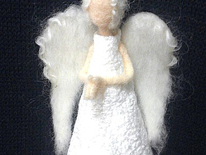 Рождественский Ангел   Ярмарка Мастеров - ручная работа, handmade
