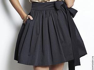 Шьем модную юбку за 4 часа! | Ярмарка Мастеров - ручная работа, handmade