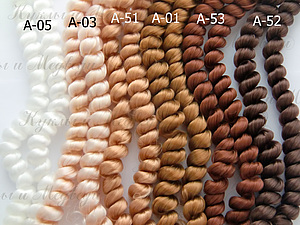 Один жгутик кудрявых волос в подарок при покупке 7 любых!   Ярмарка Мастеров - ручная работа, handmade