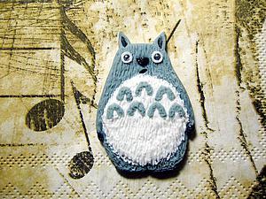 Лепим хранителя леса Тоторо. Ярмарка Мастеров - ручная работа, handmade.