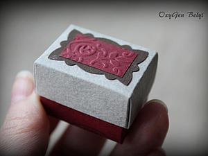 Коробочка для украшений своими руками. Ярмарка Мастеров - ручная работа, handmade.