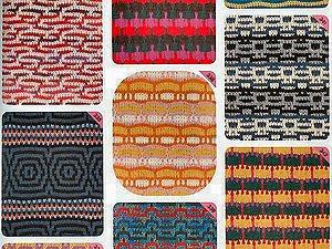 Многоцветные скип рисунки (рельефное переплетение) | Ярмарка Мастеров - ручная работа, handmade