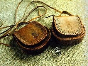 Работа с натуральной кожей: Декоративная сумочка | Ярмарка Мастеров - ручная работа, handmade