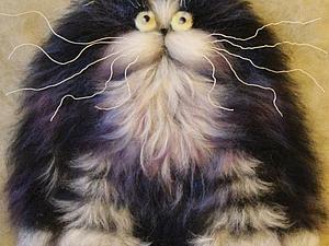 Рисуем кота по мотивам картин Ким Хаскинс. Ярмарка Мастеров - ручная работа, handmade.