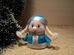 Мастерим внучку Снегурочку (вторая часть). Ярмарка Мастеров - ручная работа, handmade.