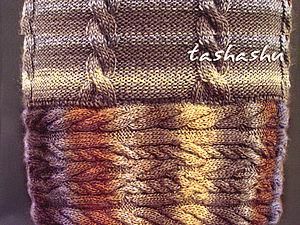 Вязание сложных узоров без сложностей.. Ярмарка Мастеров - ручная работа, handmade.