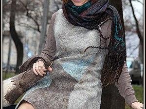 Мастер-класс валяный Платье-сарафан | Ярмарка Мастеров - ручная работа, handmade