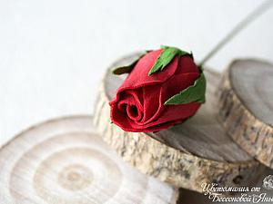 Создаем бутон розы из фоамирана. Ярмарка Мастеров - ручная работа, handmade.