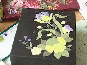 Мастер-класс по жостовской росписи | Ярмарка Мастеров - ручная работа, handmade