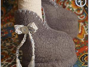 Делаем ботики для большеножки | Ярмарка Мастеров - ручная работа, handmade