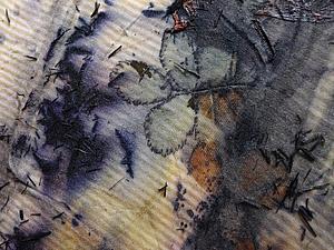 Как мы красили ткани растениями. Эко принт. 6 мая 2014г. | Ярмарка Мастеров - ручная работа, handmade