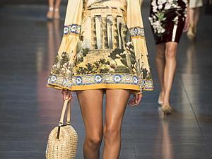 Ткани  Dolce Gabbana из новой коллекции (часть 2) | Ярмарка Мастеров - ручная работа, handmade