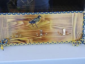 Мастерим милую вешалку для ключей и мелочей. Ярмарка Мастеров - ручная работа, handmade.
