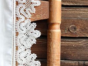 Изделия с мерным вологодским кружевом на заказ | Ярмарка Мастеров - ручная работа, handmade