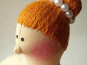 Прическа для балерины (тильды толстушки) | Ярмарка Мастеров - ручная работа, handmade