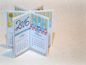 We make cute table calendar