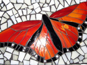 Мозаика из стекла. Делаем