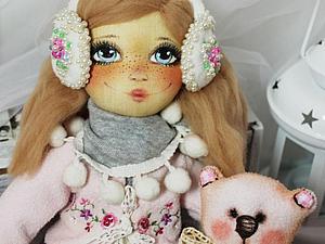 Аукциончик на куколку с мишкой уже начался! :) | Ярмарка Мастеров - ручная работа, handmade