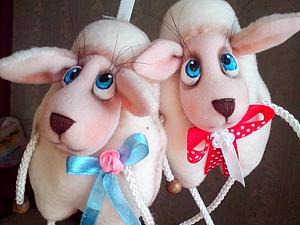 Создание милой овечки — новогоднего сувенира. Ярмарка Мастеров - ручная работа, handmade.