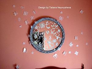 Декорирование старого зеркала. Ярмарка Мастеров - ручная работа, handmade.