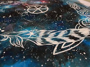 Возводим на футболке Чертог Финиста. Ярмарка Мастеров - ручная работа, handmade.