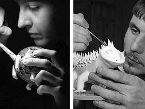 Сказочные фигуры из фарфора | Ярмарка Мастеров - ручная работа, handmade