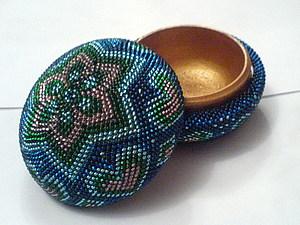 Пошаговая фото-инструкция по оплетению круглой деревянной шкатулки.. Ярмарка Мастеров - ручная работа, handmade.