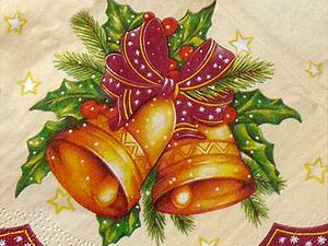 Новое поступление Новогодних салфеток! | Ярмарка Мастеров - ручная работа, handmade
