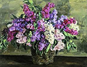 Сирень - источник моего вдохновения. Русские художники. | Ярмарка Мастеров - ручная работа, handmade