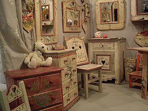 Мастерская расписной мебели в Альпах.. Ярмарка Мастеров - ручная работа, handmade.