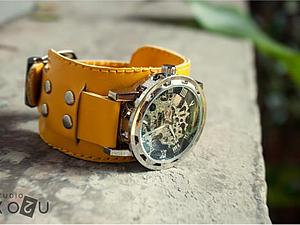 Лимонные часы | Ярмарка Мастеров - ручная работа, handmade
