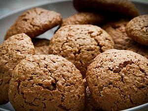 Овсяное печенье - Вкус детства   Ярмарка Мастеров - ручная работа, handmade