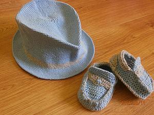 Вяжем мокасинчики для маленького модника. Ярмарка Мастеров - ручная работа, handmade.