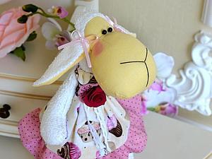 Мастер-класс Тильда-овечка в обуви. | Ярмарка Мастеров - ручная работа, handmade