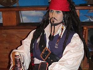 Создание ростовой куклы. Капитан Джек Воробей.. Ярмарка Мастеров - ручная работа, handmade.