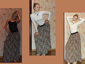 Как сшить юбку из штапеля своими руками